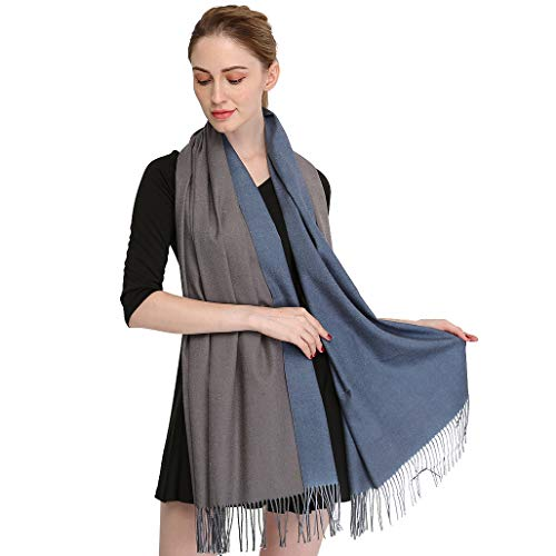 Longwu Cashmere Wrap Shole Chal Mujer Invierno Extra