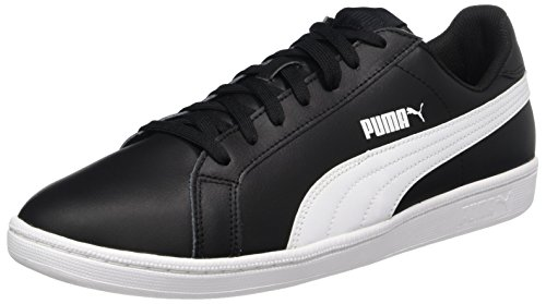 Puma Unisex-Erwachsene Smash Buck Low-Top Sneakers, 43 EU, Schwarz