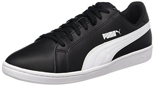 Puma Puma Smash Leather, Unisex-Erwachsene Tennisschuhe, Schwarz, 40.5 EU