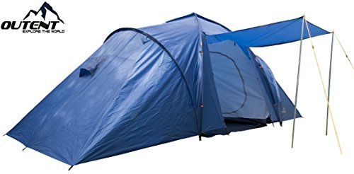 Outent &apos Camping Tent,'Cromwell VI Tent Family Tent for 6 Persons