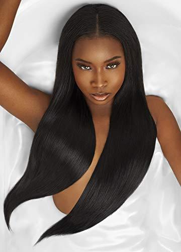 """Outre Mylk Yaki Weaving Hair 2-PACKS (12"""", 1B Off Black)"""