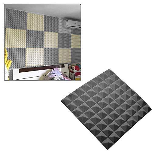 Godagoda Wand Tapete Schalldämmung Schaum Wandaufkleber für Wohnzimmer Schlafzimmer 30x30x5cm