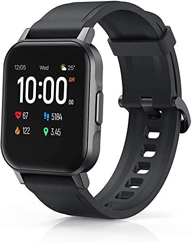 Smartwatch, Fitness Tracker con Impermeabile IP68, Tracciamento Sport, Orologio Smart compatibile con Android iOS - Nero
