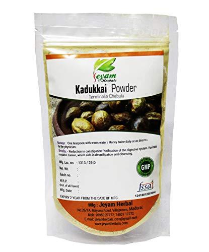 Jeyam herbals Kadukkai Powder/Ink nut powder (Size – 200G)