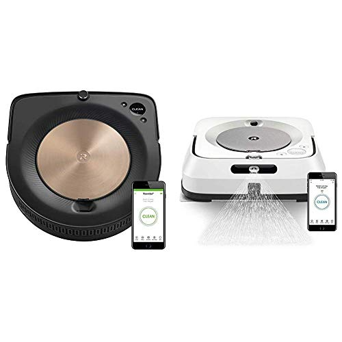 Purchase iRobot Roomba S9 (9150) Robot Vacuum with Braava Jet M6 (6110) Ultimate Robot Mop