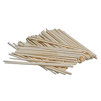 HealthGoodsIn - Wood Coffee Stirrer for Café, Office, Home   Eco-Friendly, Pack of 80 Coffee Stirrers (Rectangle)