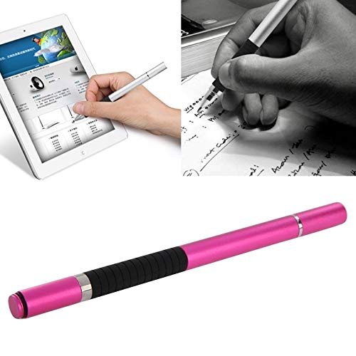 GUPENG Stylus Pen for Touchscreen, 2 in 1 Stylus Touch Pen + Ball Pen, for iPhone 6 & 6 Plus / 5 & 5S & 5C/ iPad Air 2 / iPad mini 1/2 / 3 / New iPad (iPad 3) (Color : Magenta)