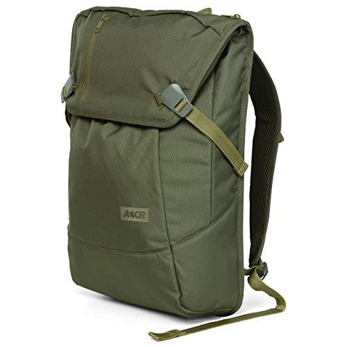 AEVOR Daypack - erweiterbarer Rucksack, ergonomisch, Laptopfach, wasserabweisend - Pine Green - Olive