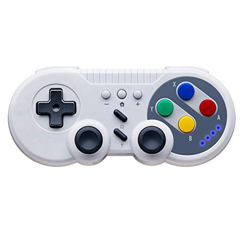 Controlador de juegos para Nintendo Switch, PowerLead Gamepad inalámbrico Mando Pro para Switch USB Classic Controller para PC con Windows
