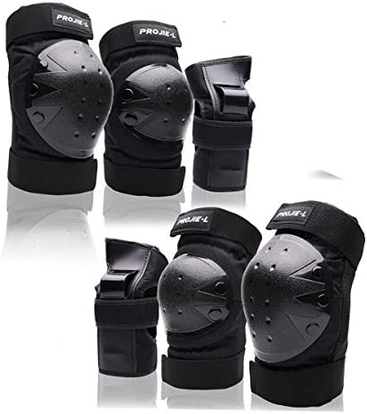 Protective Gear Set For Adult Youth Knee Pads Elbow Pads Wrist Guards for Skateboarding Cycling product image