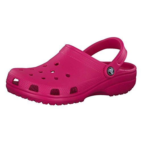 Crocs Classic, Zuecos Unisex Adulto, Rosa (Candy Pink), 36/37 EU