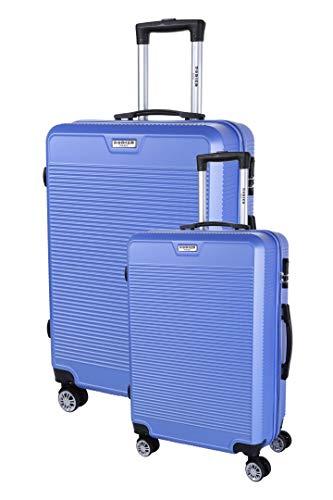 RODIER Set de 2 Valises Koffer-Set, 50 cm, Blau (Bleu)