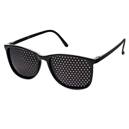 Gafas estenopeicas 415-YSG - superficie completa Rejilla - negro - Incl. Accesorio