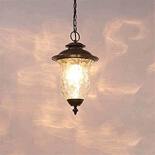 Buitenverlichting Waterdichte Plafond Kroonluchter Europese Vintage Aluminium Hanglampen Externe Regendichte Hanglamp Lantaarns Decoratie Villa Balkon Patio Corridor E27