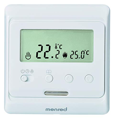 menred E31.116 Thermostat, Weiß