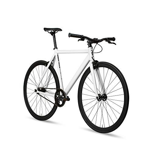 fr single speed bikes 6KU Aluminum Fixed Gear Single-Speed Fixie Urban Track Bike