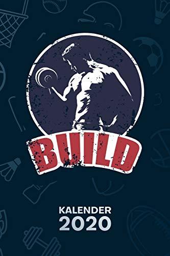 KALENDER 2020: A5 Bodybuilding Terminplaner für Hobbysportler mit DATUM - 52 Kalenderwochen für Termine & To-Do Listen - Fitnessgeschenk ... Jahreskalender Natural Bodybuilding