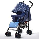 HYCy Baby Stroller, Light Folding Four Wheeler, Seat, Recliner, High Carbon...