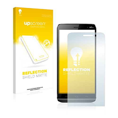 upscreen Entspiegelungs-Schutzfolie kompatibel mit Wiko Slide – Anti-Reflex Bildschirmschutz-Folie Matt