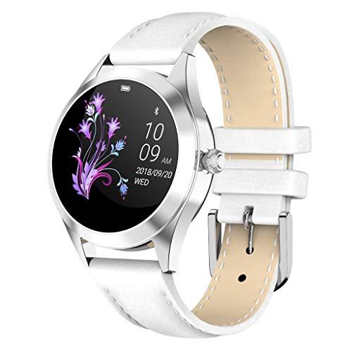 LTLJX Smartwatch Damen,1.04 Zoll Touch-Farbdisplay Fitness Armbanduhr mit Pulsuhr Fitness Tracker IP68 Wasserdicht Sportuhr Smart Watch mit Schrittzähler,Schlafmonitor,Stoppuhr,Schwarz