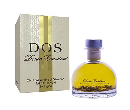 Aceite de Oliva virgen extra ORGÁNICO con Trufas Blancas 100ml - DENSE EMOTIONS Idea regalo Gourmet
