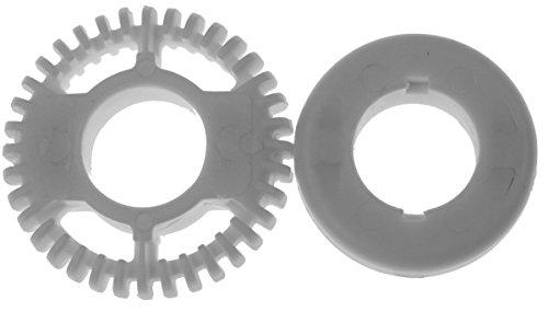 Severin Einsatz-Set (8332048 + 8331048 weiss) passend für für SM3582, SM9684, SM9688 und SM9685 Milchaufschäumer