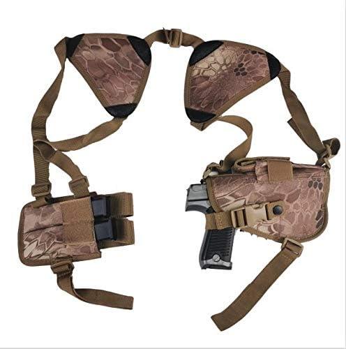 NO LOGO L-Yune, Nuevo al Aire Libre táctico Seguridad de la Policía Universal Izquierda Derecha Mano de la Pistola de la Bolsa de Hombro Pistolera for Glock 17 19 22 23 31 32 (Color : MKTA)
