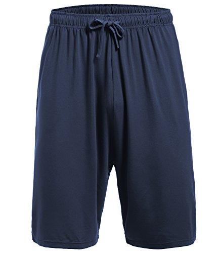 Latuza Men's Pajama Bottom Shorts M DarkBlue