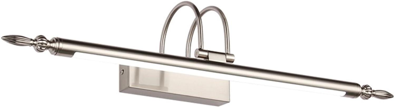 William 337 Spiegel Licht, Anti-Fog und wasserdicht zeitgenssische Spiegel Lampe Wandleuchte ist geeignet für Badezimmer, Schlafzimmer, Kommode, Fresko ( Farbe   Warmes Licht-9W 56cm )