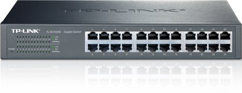 TL-SG1024D 24-Port Gb Desktop/Rackmount Switch TP-LINK Switch Networking Accessory by TP-LINK
