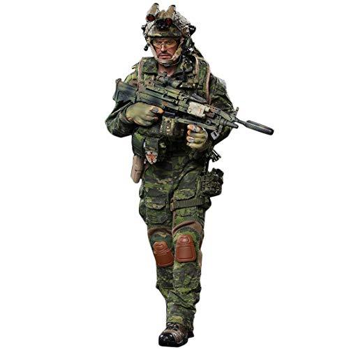 Mecotecn 1/6 Soldat Figur, 12 Zoll Soldaten Spielzeug Figuren Militär Actionfiguren Modell - US-Spezialeinheiten (DEVGRU)