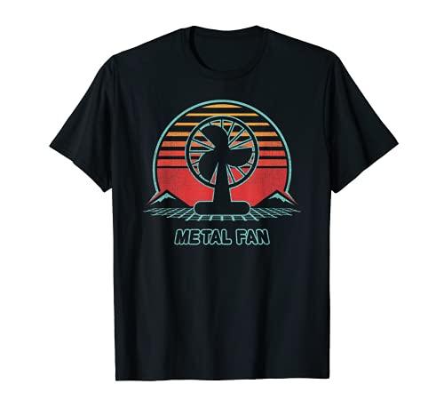 Metallventilator Retro 80er Jahre Stil T-Shirt