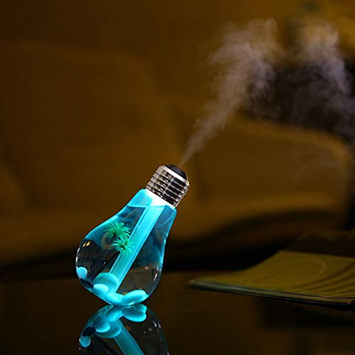 LOKODO Lamp Humidifier Home Aroma LED Humidifier Air Diffuser Purifier Atomizer Highpot Lamp Shape Decorative Lights