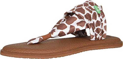 Sanuk Yoga Sling 2 Prints Giraffe 9 B M