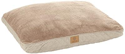 American Kennel Club Fur Diamond Stitch Reversible Gusset Pet Bed