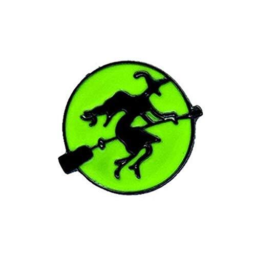 Da.Wa 1 Stück Halloween Cartoon Brosche Schal Clips Mantel Pin Broschen Damen Festival Geschenk