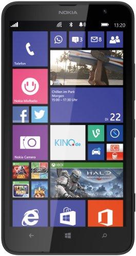 Nokia Lumia 1320 Smartphone (6 Zoll (15,2 cm) Touch-Bildschirm, 8 GB Speicher, Windows 8) schwarz