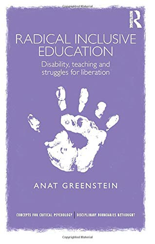 Compare Textbook Prices for Radical Inclusive Education Concepts for Critical Psychology 1 Edition ISBN 9780415709255 by Greenstein, Anat