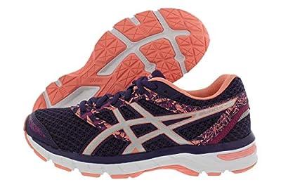 ASICS Gel-Excite 4 Women's Running Shoe, Grape/Silver/Begonia Pink, 9 M US