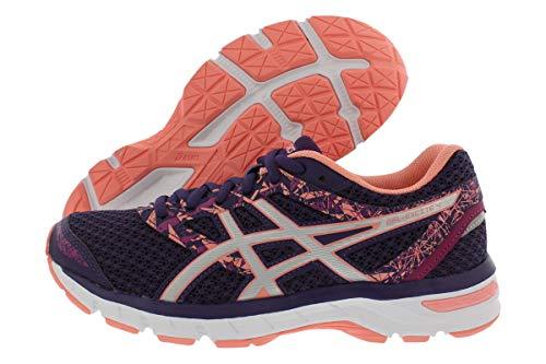ASICS Gel-Excite 4 Women's Running Shoe, Grape/Silver/Begonia Pink, 8 M US