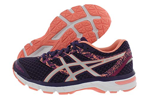 ASICS Gel-Excite 4 Women's Running Shoe, Grape/Silver/Begonia Pink, 8 M US