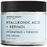 Provence Beauty 1 fl oz Hyaluronic Acid + Retinol Hydrating & Firming Eye Cream