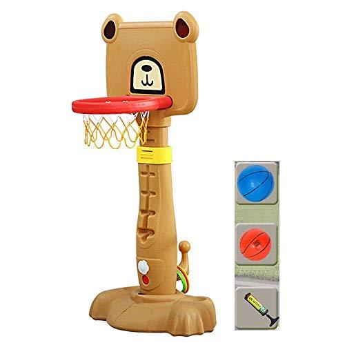 CXY-JOEL Soporte de Baloncesto Altura Ajustable 120-160 cm Aro de Baloncesto Interior con 2 Bolas Y Bomba Juguete de Tiro para Niños Lindo