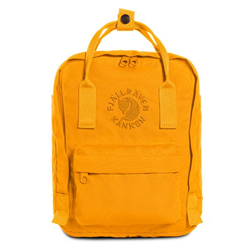 Fjällräven Re-Kånken Mini - Mochila, Unisex Adulto, Amarillo (Sunflower Yellow), 29 x 20 x 13 cm