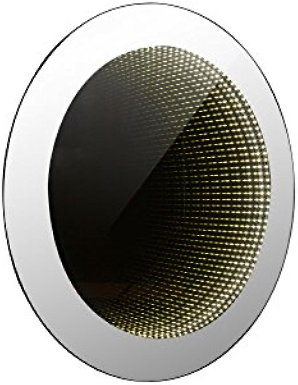 Hochwertige LED Wandleuchte Lichteffekt Spiegel Globo 84018-2