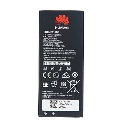 Batteria Originale Huawei Modello HB4342A1RBC - 2200 mAh con Carica Rapida 2.0 Per Huawei Y6 / HONOR 4A - Senza Scatola