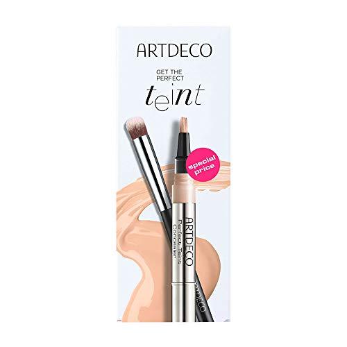 ARTDECO Perfect Teint Concealer Set, Geschenkset aus Abdeckstift + Make-up Pinsel