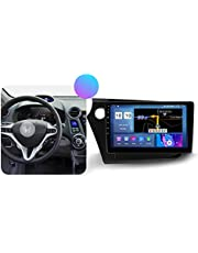 Android Auto Stereo 2 Din in-Dash Audio Hoofd Unit 9 ''Touchscreen 5G WiFi Auto Info Plug and Play SWC Ondersteuning Carautoplay/GPS/DAB+/OBDII voor Honda Insight 2 2009-2014