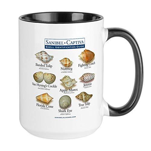 CafePress Shell ID Ss10x10.Png Mugs Coffee Mug, Large 15 oz. White Coffee Cup