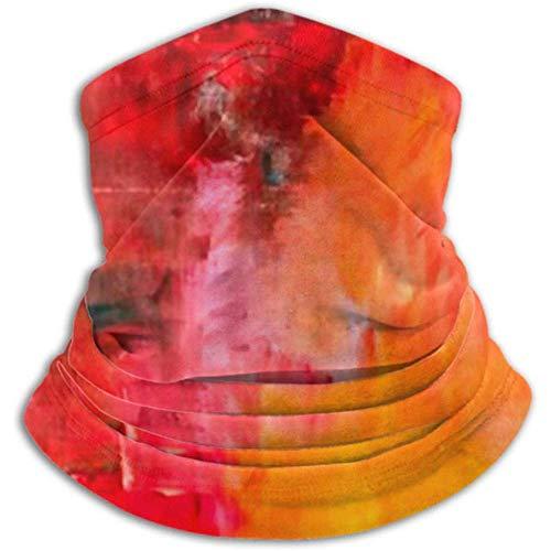 Linger In Mikrofaser-Halswärmer-Hals-Gamaschen-Rohr, Ohrenwärmer-Stirnband-Gesichtsmasken-Zusammenfassungs-Hintergrund auf Segeltuch